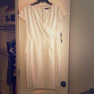 Antonio Melani white dress size 12 NWT